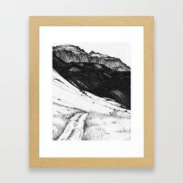Sleeping Indian Framed Art Print