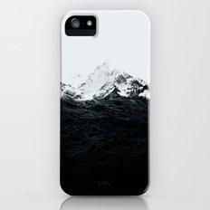Those waves were like mountains iPhone SE Slim Case