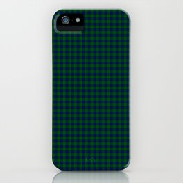 Montgomery Tartan iPhone Case