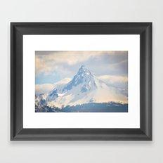 Mount Washington, Oregon Framed Art Print