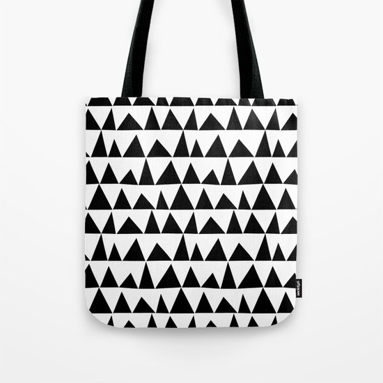 Playful triangles Tote Bag
