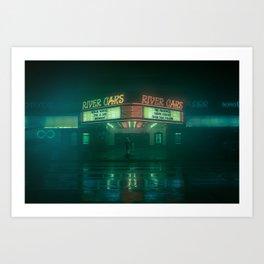 The Space City | River Oaks Art Print