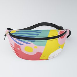 Abstract Pop I Fanny Pack