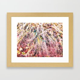 The best place Framed Art Print
