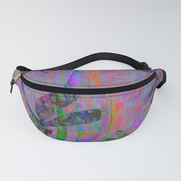 Dragonfly Opal Fanny Pack