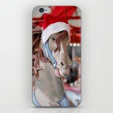 Santa Horse iPhone & iPod Skin