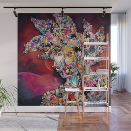 Collage Wall Mural