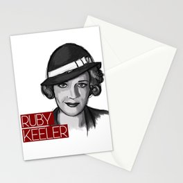 1930s Ruby Stationery Cards