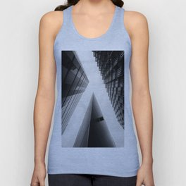 Modern Buildings London Finance Abstract Unisex Tank Top