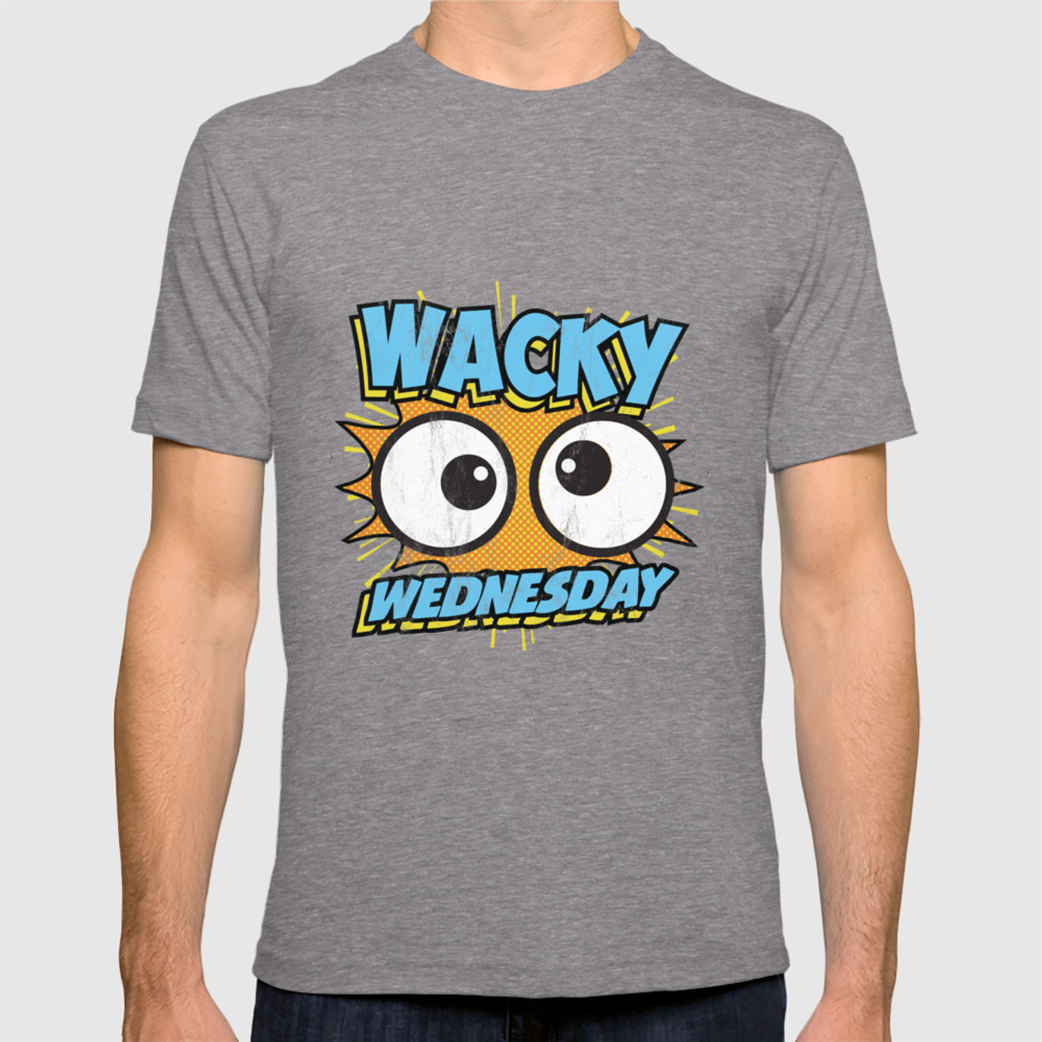 9c04cfd7e2b6 Wacky Wednesday Googly Eyes Silly Tshirt Comic Style Kids T-shirt by noirty    Society6