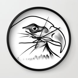eagle 2 Wall Clock