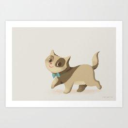 Little Cat Simply Art Print