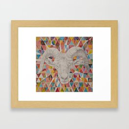 The Great Pan is Dead I Framed Art Print