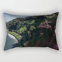 Purple Hills Rectangular Pillow