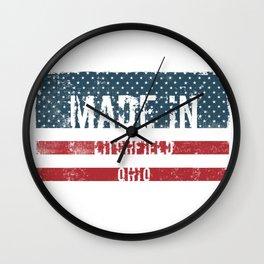 Made in Litchfield, Ohio Wall Clock