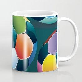 Colorful Soccer Ball Coffee Mug