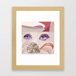 blume 1 Framed Art Print