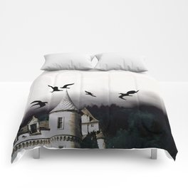 The house of Nevermore Comforters