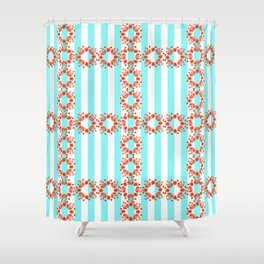 Clown juggler #2 Shower Curtain