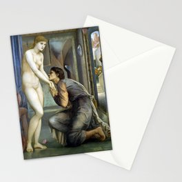 Edward Burne-Jones Pygmalion and the Image The Soul Attains Stationery Cards