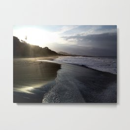 Sunrise Beach Metal Print