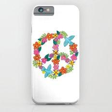 Flower Peace Sign iPhone 6s Slim Case