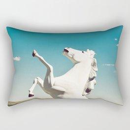 Guardian of the Plains Rectangular Pillow
