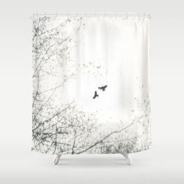 Freebirds ii - Freebirds Series Shower Curtain