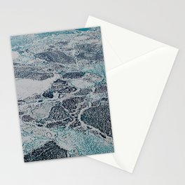 Bering Sea Ice Stationery Cards