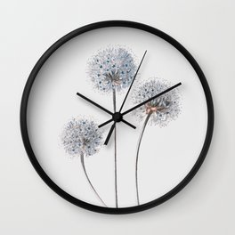 Dandelion 2 Wall Clock
