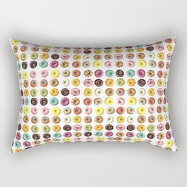 Eat all the donuts Rectangular Pillow