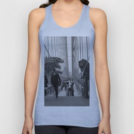 Old Time Godzilla vs. King Kong Unisex Tank Top