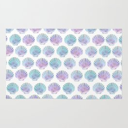 iridescent shells pattern Rug