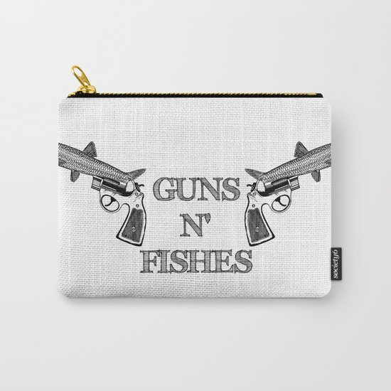 Guns n' Fishes Carry-All Pouch