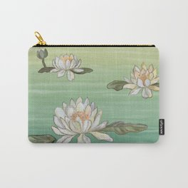 Drifting Water Lilies Carry-All Pouch