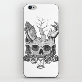 Faith in Death iPhone Skin
