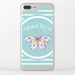 Fabulous Big Sister Gifts Clear iPhone Case