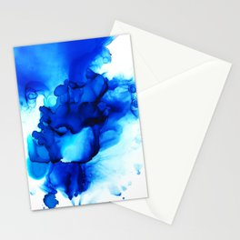 Deep Thoughts Abstract Painting Stationery Cards