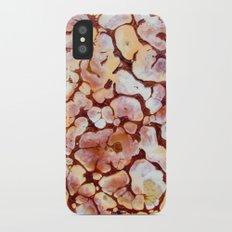 Nature brown iPhone X Slim Case