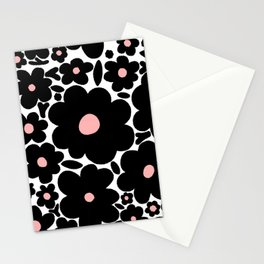 flower blobs 001 Stationery Cards