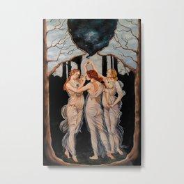 The Three Seekers Metal Print