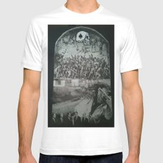 Forced Rejection MEDIUM White Mens Fitted Tee