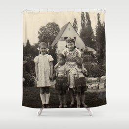 Das Haus Shower Curtain