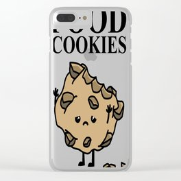 FOOD Cookies Clear iPhone Case