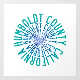 Humboldt County California Art Print
