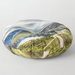 Enol, the Lakes of Covadonga Floor Pillow