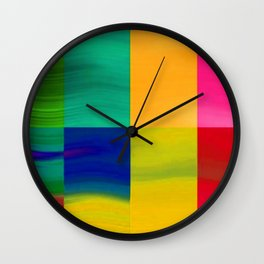 Color-emotion II Wall Clock
