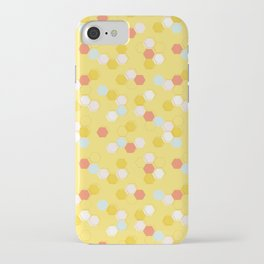 Honeycomb - Sunshine Yellow iPhone Case