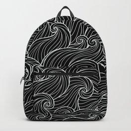 Black Wave Backpack