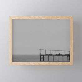 Fishing Pier, F Framed Mini Art Print